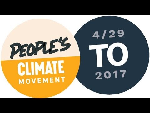 People's Climate March   Toronto 2017