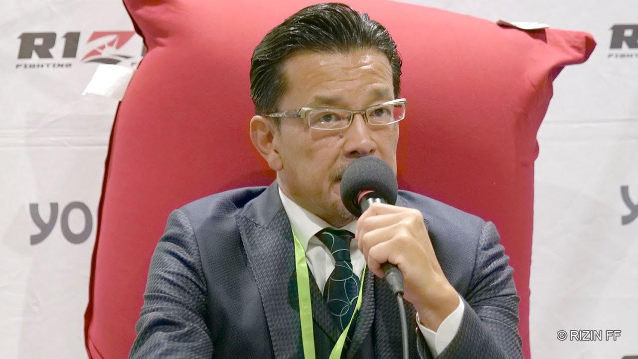 榊原信行CEO 総括 試合後インタビュー / Yogibo presents RIZIN.31