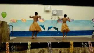 Gianni & Michael dance Tahitian