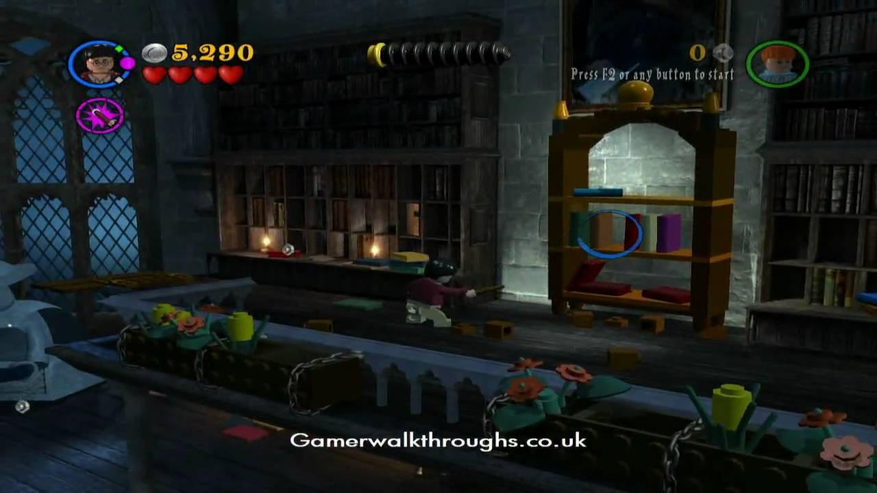 Lego harry potter walkthrough - The restricted section ...
