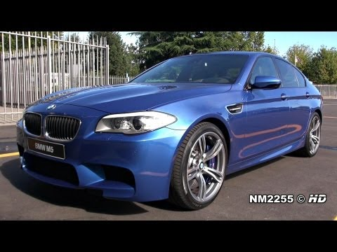 BMW M5 F10 Stock Exhaust Sound - Start and Revs!
