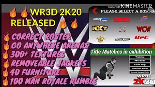 Download - WR3D 2K20 by Mike- Title Match in Exhibition video