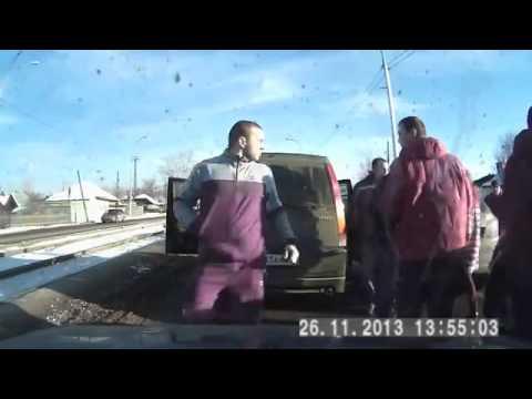 ДТП в Кемерове: самосуд над хамом