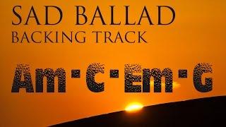 Video Sad Slow Instrumental Guitar Ballad Backing Track A minor download MP3, 3GP, MP4, WEBM, AVI, FLV September 2018