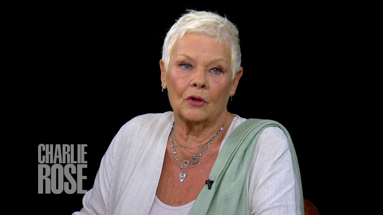 What Dame Judi Dench tells young actors ...