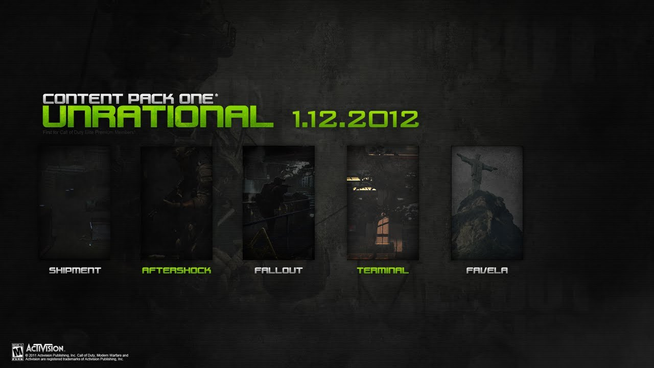 Call Of Duty Modern Warfare Map Packs on