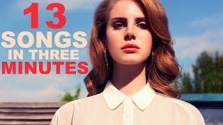 13 SONGS IN 3 MINUTES | Joshua Simon