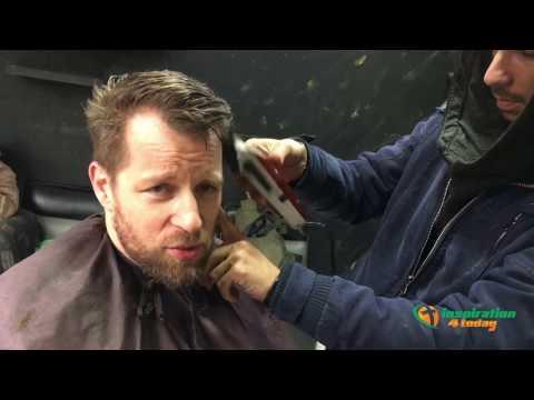Barber in Amman