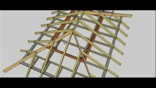 Hip Roof Erection Procedure