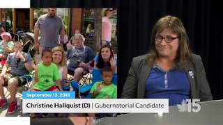 Christine Hallquist talks about her vision for Vermont | Franklin County Blues