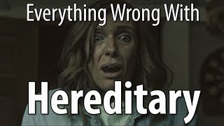 Hereditary is freaky, creepy, original, and features some great performances. But it still has sins!  There was a slightly different version of this sins video that was apparently too gross or graphic or something, so we made some tweaks. But if you want to see that mostly-the-same original version, you can do so here: https://www.youtube.com/watch?v=CNtZ-EY9e2E  Next week: punching sins and adventure/fantasy sins.  Remember, no movie is without sin! Which movie's sins should we expose next?!  Patreon: https://www.patreon.com/CinemaSins   Podcast: https://soundcloud.com/cinemasins   TVSins: https://www.youtube.com/channel/UCe4bOvc1mYxFcQ5xPb9Zmow   MusicVideoSins: https://www.youtube.com/channel/UCUBq8oBRVTsMpjWiHfjJpDw   Twitters... Jeremy: http://twitter.com/cinemasins  Barrett: http://twitter.com/musicvideosins  Aaron: http://twitter.com/aarondicer  Jonathan: http://twitter.com/samloomis13      Subreddit: http://reddit.com/r/cinemasins   Website: http://cinemasins.com   SinCast Facebook page: https://www.facebook.com/SinCastCinemaSins Merch: https://teespring.com/stores/cinemasins-store