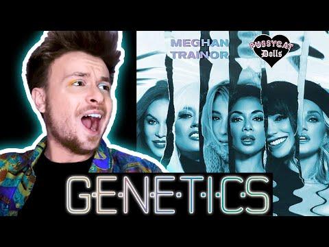 Meghan Trainor - Genetics (Audio) Ft. Pussycat Dolls [REACTION]