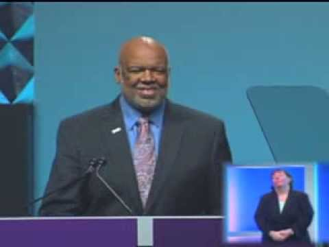 APHA President, Adewale Troutman speaks at the APHA 141st Annual Meeting