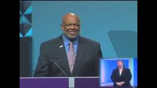 APHA President, Adewale Troutman speaks at the APHA 141st Annual Meeting in Boston