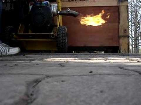 Flame thrower exhaust 2