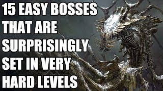 15 Easy Bosses That Are Surprisingly Set In Very Hard Levels