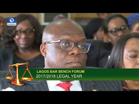 Lagos Judiciary Holds Interactive Session To Mark New Legal Year |Law Weekly|