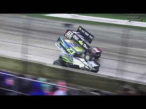 Fremont Speedway August 2017 Slowmo Highlight