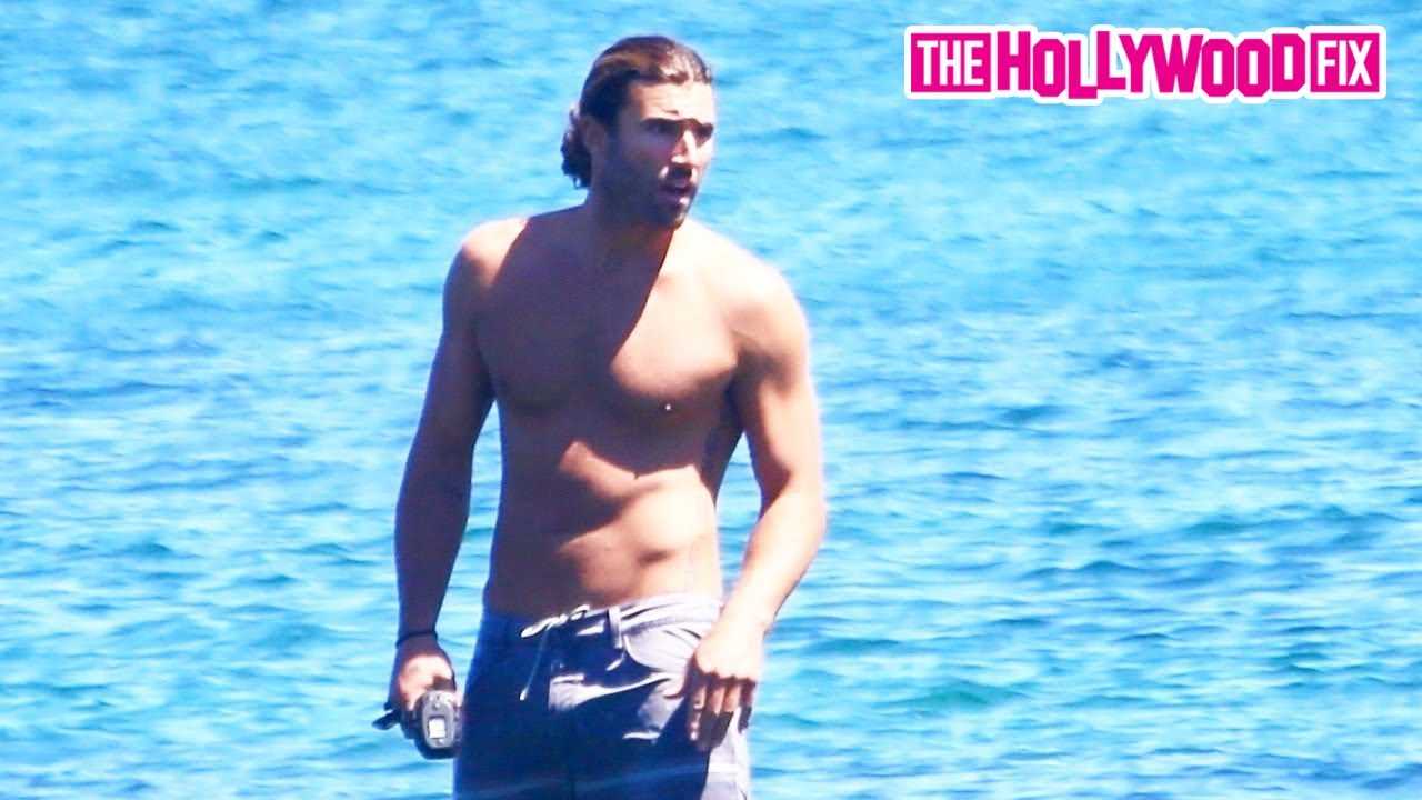 Kendall & Kylie's Brother Brody Jenner Enjoys An Afternoon Surf Session On His Hydrofoil Board