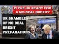 How Prepared is the UK for a No Deal Brexit? Go on, have a guess