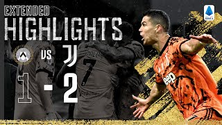 Udinese 1-2 Juventus | Double From Ronaldo Secures Away Win! | EXTENDED Highlights