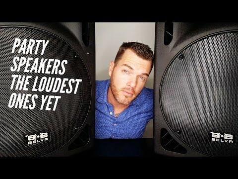 Loudest Bluetooth Speaker Ever | Best DJ Speakers | Belva 15