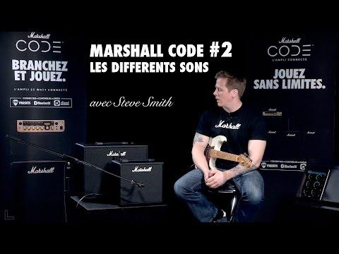 Les amplis MARSHALL CODE #2 Les différents sons (vidéo de la boite noire)