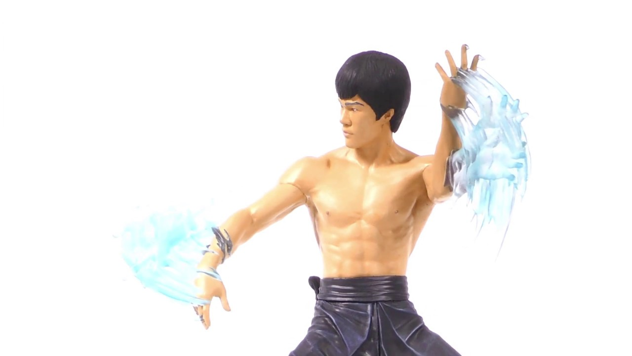 Bruce Lee Gallery Water PVC Diorama Unboxing + 360