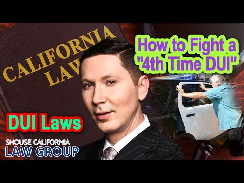 "Former D.A.: How to fight a ""4th time DUI"""