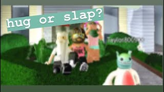 Would you hug or slap me? ft. Cxllapse, DaGirl Cookie, and TokyoSlayer || Roblox experiment