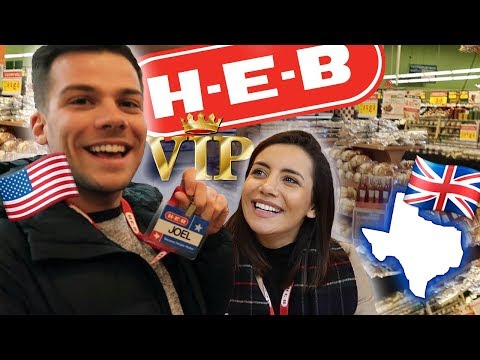 🇬🇧BRITISH EXPLORE HEB FOR THE FIRST TIME 🇺🇸 | Texas Series