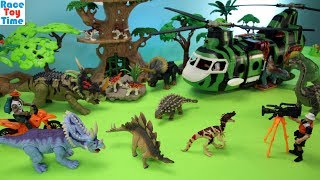 Dino Research Rescue Playset - Fun Dinosaurs Toys For Kids