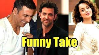LOL! Akshay Kumar's Funny Take On Hrithik Roshan And Kangana Ranaut Controversy