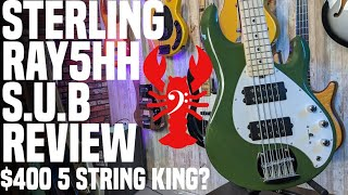 """LowEndLobster Review: Sterling SUB Stingray 5HH """"Ray5HH""""- $400 King of Five Strings?"""