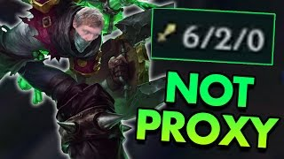HOW TO PLAY SINGED WITHOUT PROXY - League of Legends Commentary
