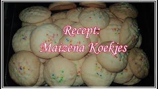 Recept: Maizena koekjes #Priyaswereld