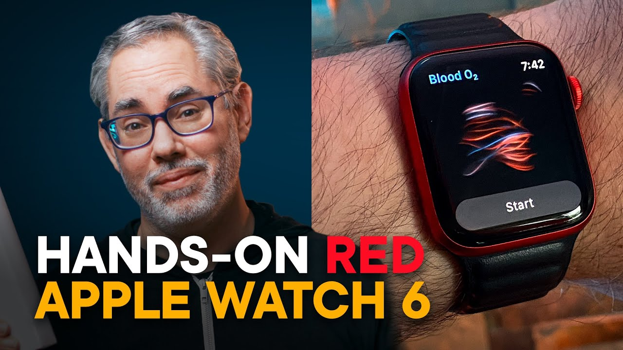 New Apple Watch Series 6 (RED) — Hands-On!