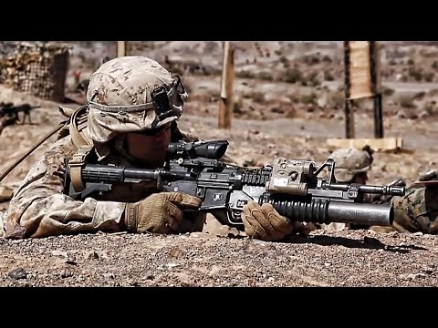 U.S. Marines Prepare For Combat Deployment