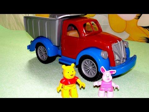 Мультики: Винни Пух. Игрушечный домик и Мебель для кукол. Винни и его друзья. Игры для детей.
