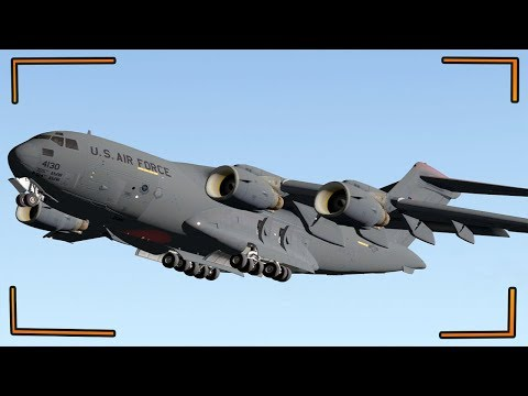 Boeing C 17 Globemaster III ONE OF THE  Largests Airplan In The World