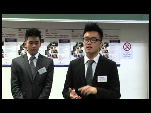 2012 HSBC/McKinsey Business Case Competition - Round 2 - The Chinese University of Hong Kong