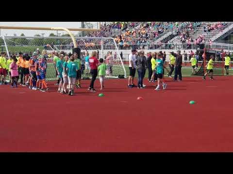 South Lyon Track Meet - elementary schools