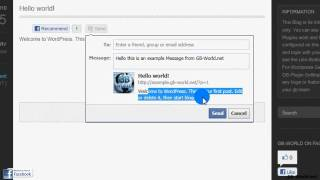 How to set up the Like-Button-Plugin-For-Wordpress (Tutorial)
