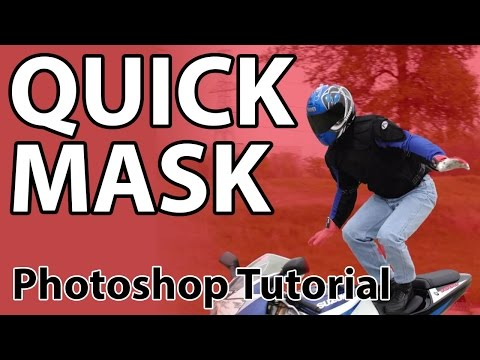 Using A Quick Mask In Photoshop