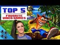 WHAT ARE BAYLEY'S TOP 5 FAVORITE VIDEO GAMES of ALL-TIME???
