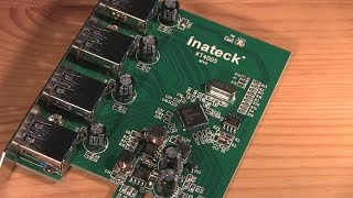 Inateck 4-Port USB 3.0 PCIe Card (KT4005) | HD