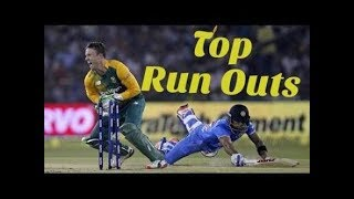 Unbelievable Run Outs in cricket history best direct hit run outs