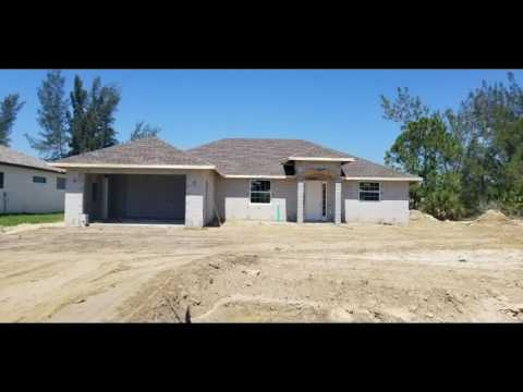 Dave Stewart's New House - Week 8 - 1624 SW 17th Ave , Cape Coral, FL  33991