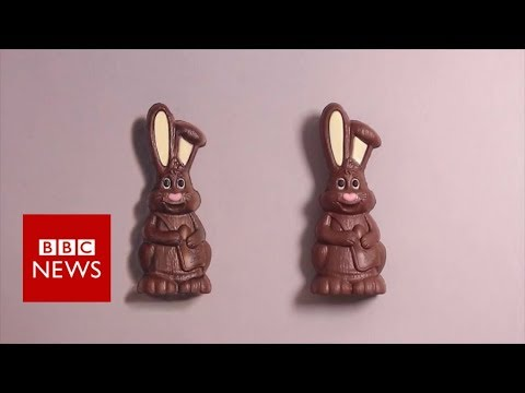 The artist who makes you look twice - BBC News