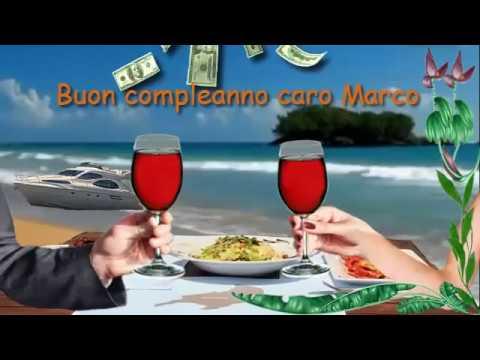 Auguri Di Buon Compleanno Marco Youtube